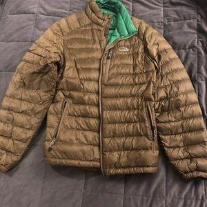 Men's LLBean puffer jacket